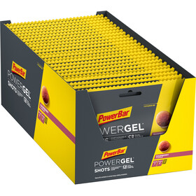 PowerBar PowerGel Shots Box 24 x 60g Raspberry